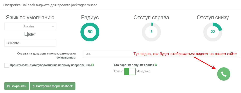 Как повысить конверсию сайта: форма обратного звонка