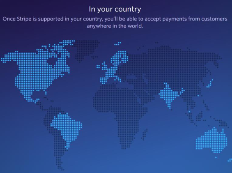 выбор платежной системы страны stripe