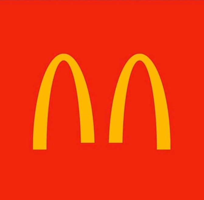 """At the beginning of the quarantine, McDonald's launched a social campaign and """"split the logo."""""""