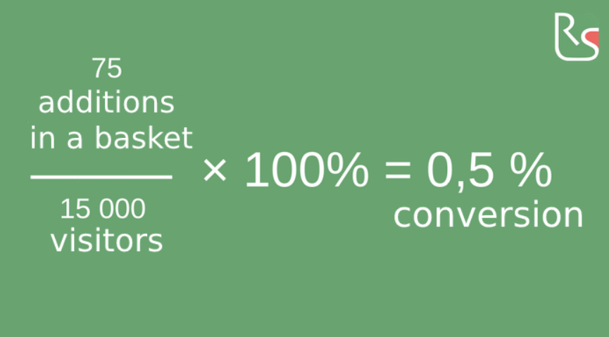 How to count the conversion