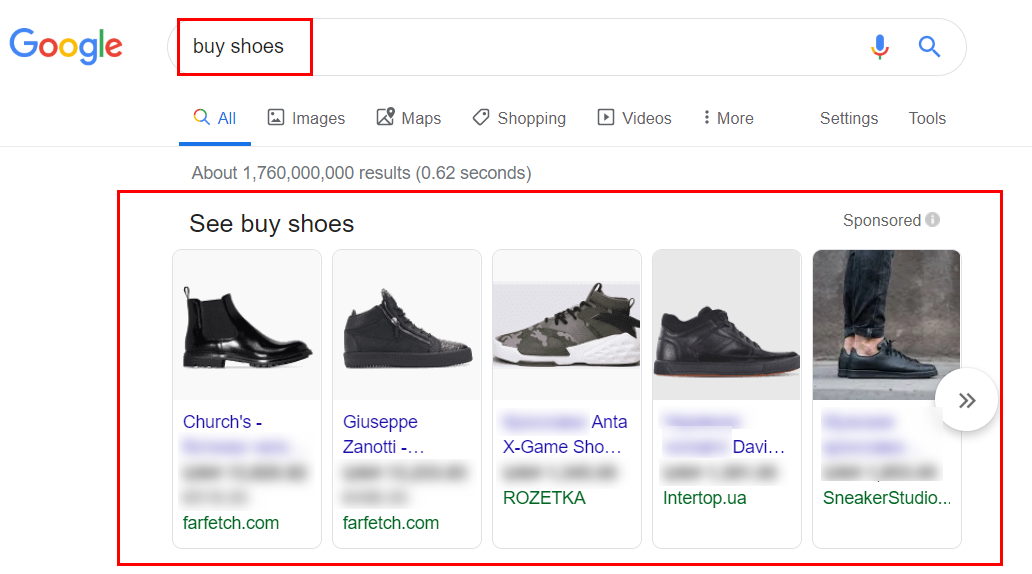Google Shopping step-by-step guidance
