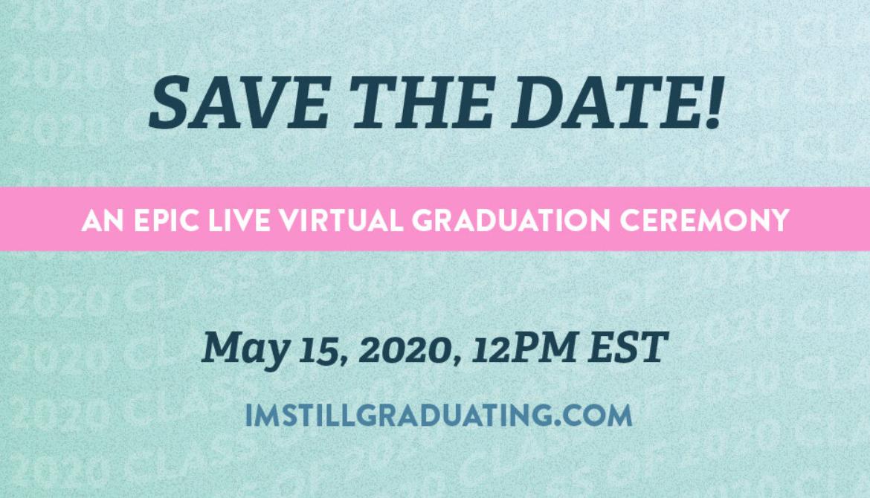 Виртуальная церемония для выпускников колледжей