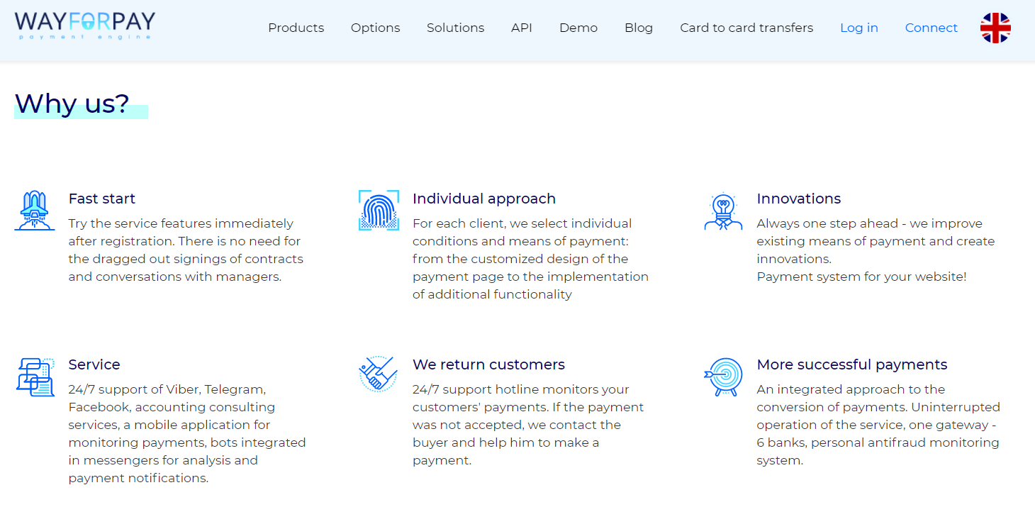 Why WayForPay?